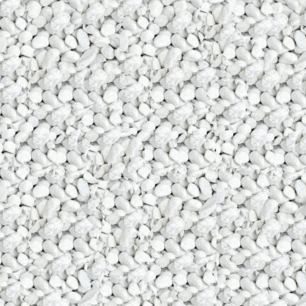 Galet marbre blanc 60/110 - Sac de 20 kg